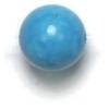 Semi-Precious 8mm Round Howlite Turquoise